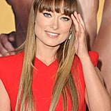 Olivia Wilde with bangs.