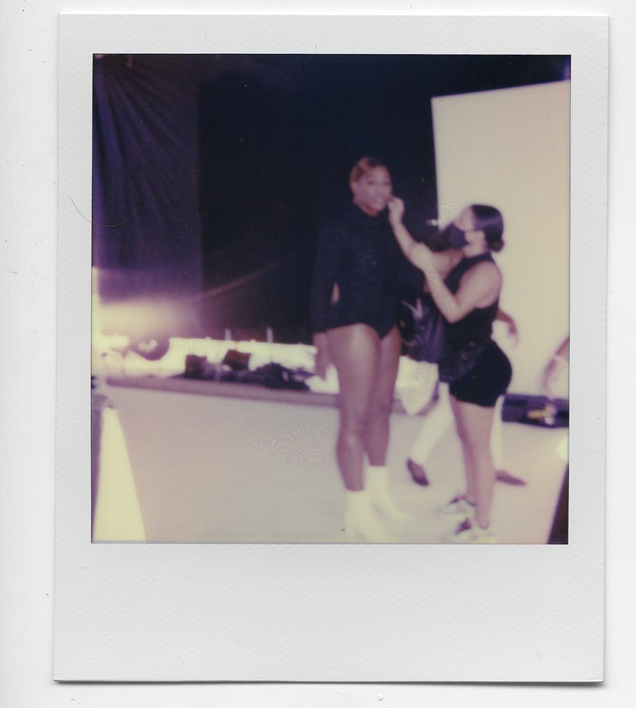 Serena Williams Behind the Scenes at Her Stuart Weitzman Shoot