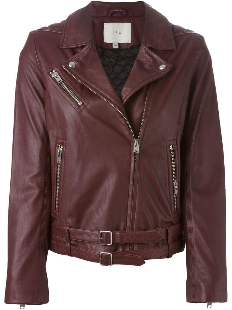 IRO Jone Leather Jacket ($673, originally $1,345)