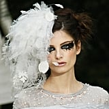 A Closer Look at the Avant Garde Makeup at Chanel