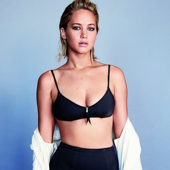 Jennifer Lawrence in Glamour Magazine February 2016