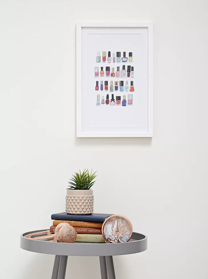 Nail Polish Wall Decor