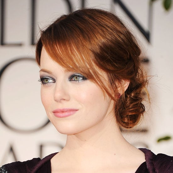 Celebrity Makeup Tips and Hair How Tos From the 2012 Golden Globes Red Carpet Beauty Looks