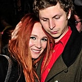 Michael Cera snuggled with Juno Temple at a Sundance afterparty.