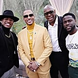 Ne-Yo, T.I., Dave Chappelle, and Kevin Hart at the 2020 Roc Nation Brunch in LA