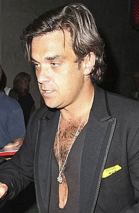 Sugar Bits — Robbie Williams Splits From Girlfriend Ayda