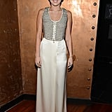 Miley Cyrus stepped out in LA to attend a gala honoring Halston CEO Ben Malka.