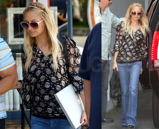 Photos of Nicole Richie At Driving School