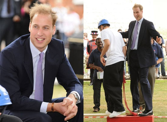Photos of Prince William at Skill Force at Tower of London