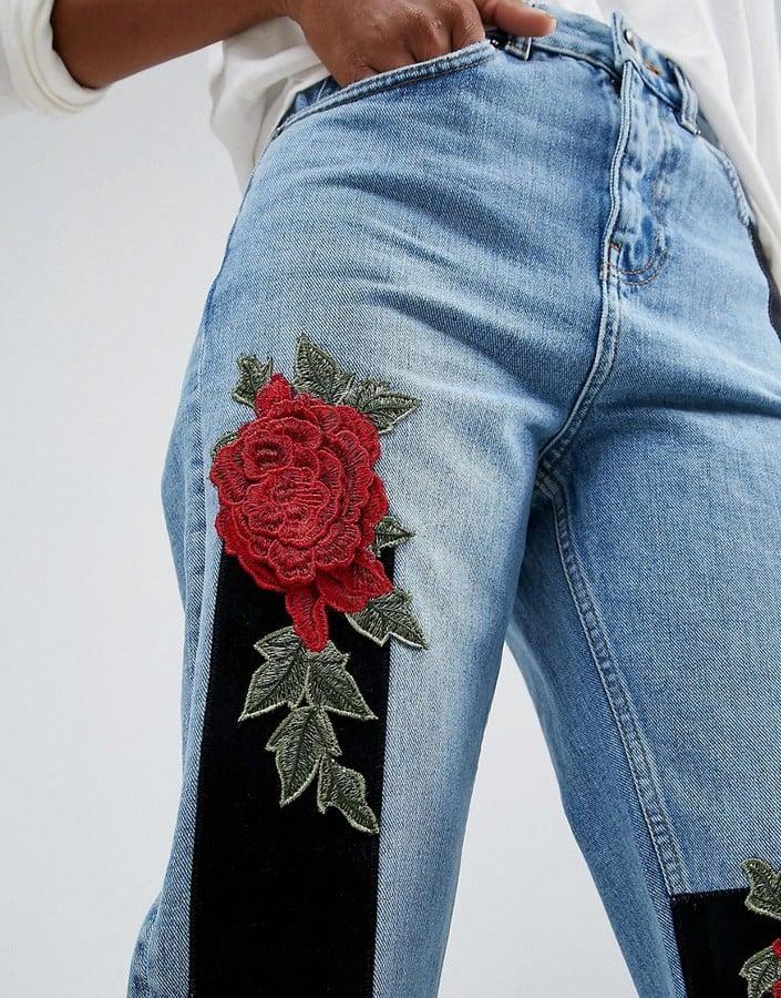 Asos High Waist Mom Jeans