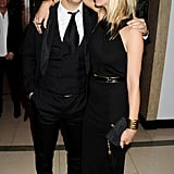 Kate Moss and Jamie Hince attended the Marie Curie Cancer Care Fundraiser in London.