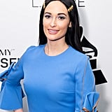 Kacey Musgraves With Powder Blue Eye Shadow