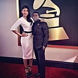 Kevin Hart hit the red carpet at the Grammys. Source: Instagram user kevinhart4real