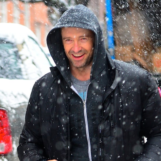 Celebrities in New York Snowstorm | February 2014