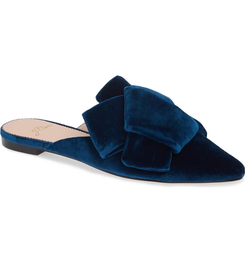 J.Crew Pointed Toe Slide