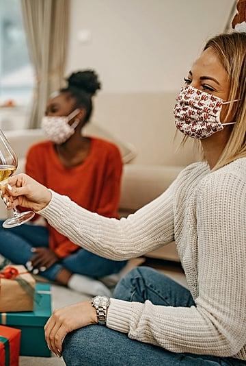 Holiday Face Masks From Gap, Banana Republic, and Athleta