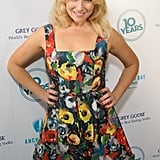 Ari Graynor posed in a floral dress.