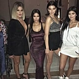Kendall Jenner Dress at Kylie Jenner Birthday Party 2017