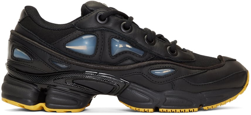 official store really comfortable low cost Raf Simons x Adidas Originals Black Edition Ozweego III ...