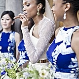We Love How This Bride Is Smoking a Cigar Like a Boss at Her Classy Montreal Wedding