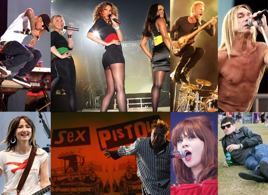 Gallery Of The Police, Sugababes, Mathew Horne, Iggy Pop, The Sex Pistols, The Kooks And More At Isle Of Wight Festival 2008