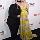 Pictured: Taryn Manning and Lea DeLaria