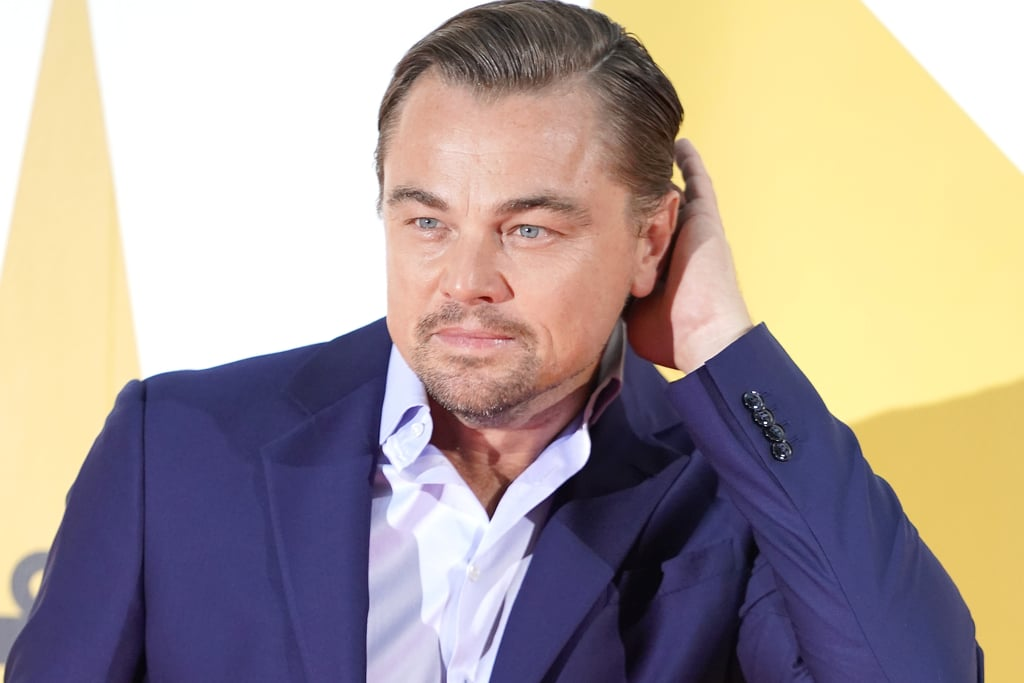 Leonardo DiCaprio at the Tokyo premiere of Once Upon a Time in Hollywood.