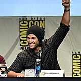 """First, Padalecki unveiled his joke: """"We're not the LOSEchesters."""""""