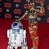 Pictured: R2-D2 and C-3PO