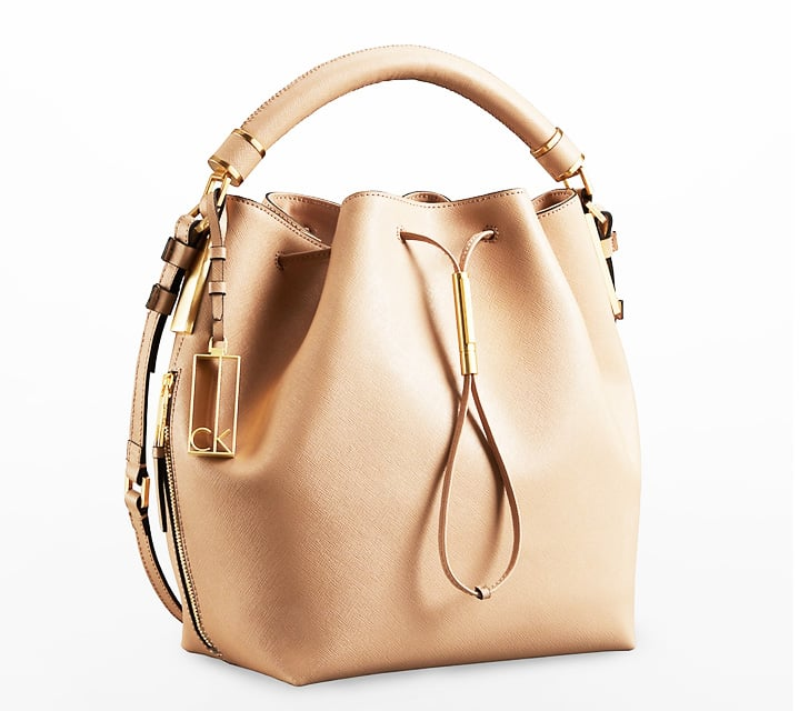 Calvin Klein Nude Bucket Bag ($248)