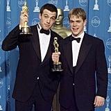 Pictured: Ben Affleck and Matt Damon