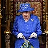 Queen Elizabeth II's EU Flag Hat