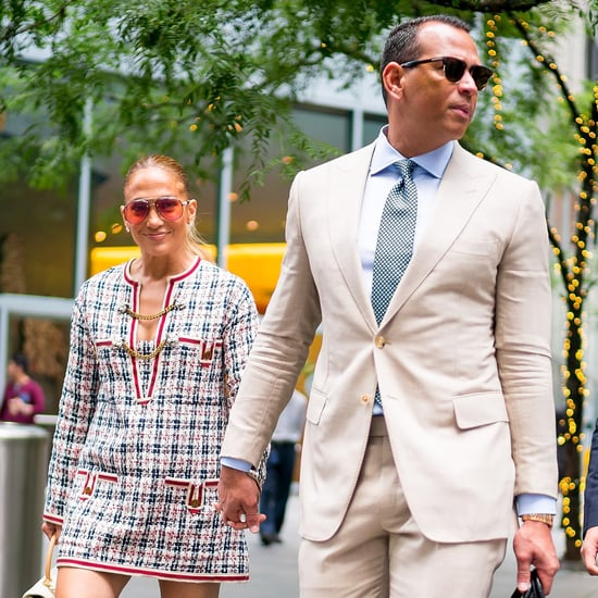 Jennifer Lopez and Alex Rodriguez Lunch in NYC August 2018