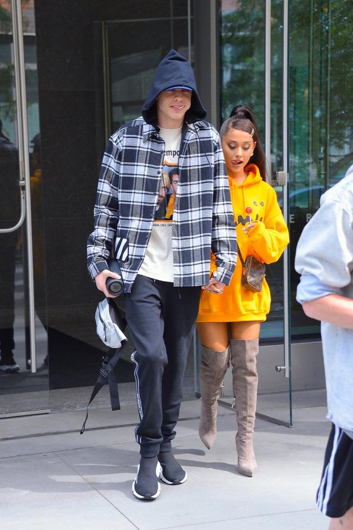 Ariana Grande Wearing Thigh High Boots Popsugar Fashion