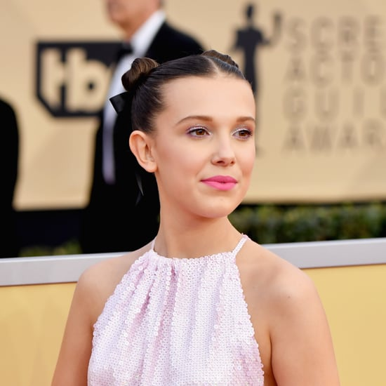 Millie Bobby Brown's Hair and Makeup at 2018 SAG Awards