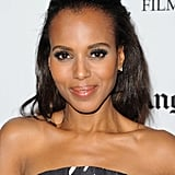 Kerry Washington posed for photos at the gala.