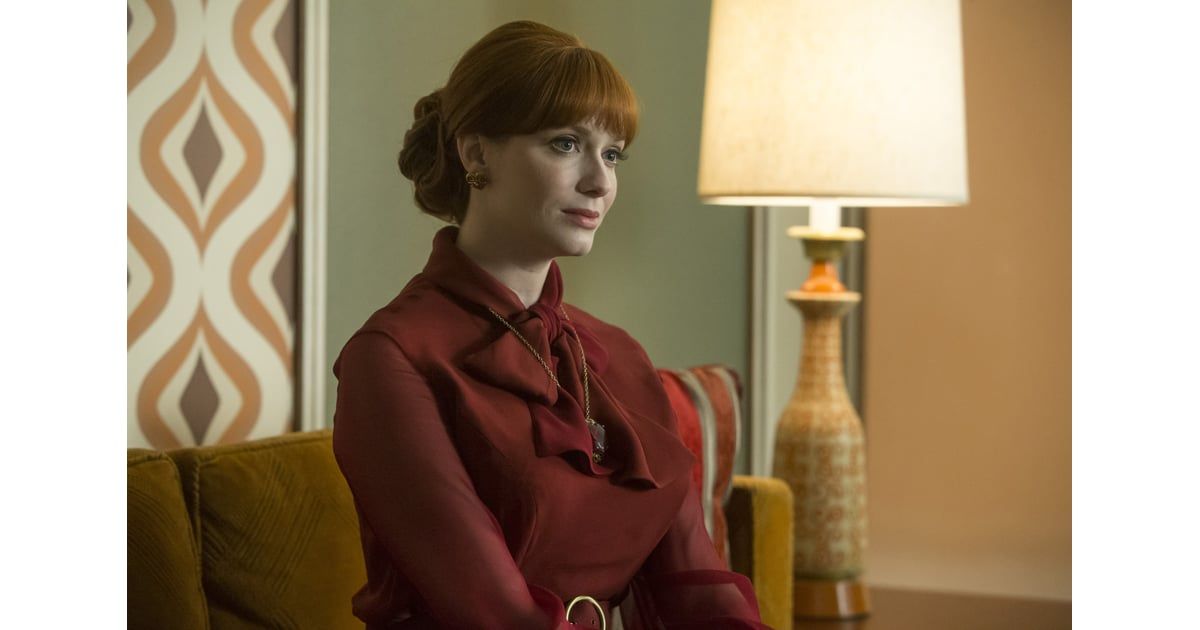 Joan: Season 7 | Mad Men Hair Pictures