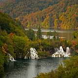 Plitvice Lake in Croatia