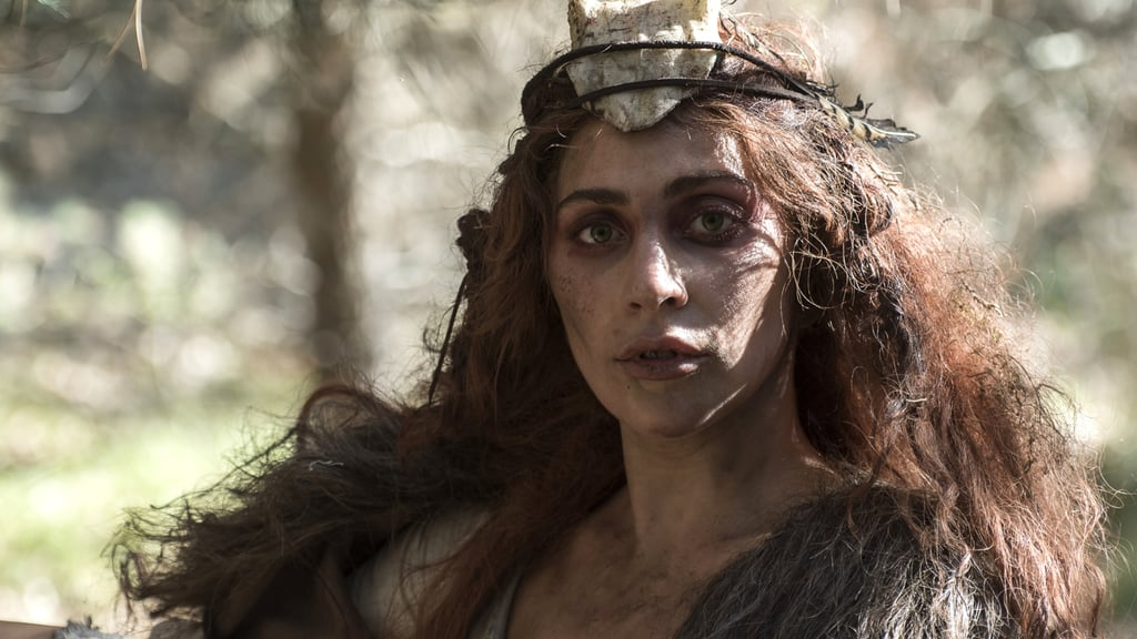 "Lady Gaga as ""Scathach"" in Roanoke"