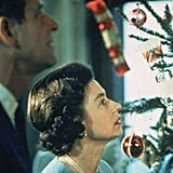 Queen Elizabeth II and Prince Philip admired their Christmas tree at Buckingham Palace in 1969.