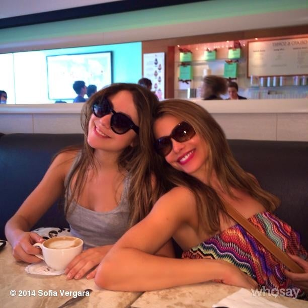 Sofia Vergara didn't want her weekend to end. Source: Sofia Vergara on WhoSay