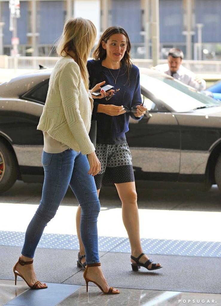 Jennifer Garner Out With Friend in LA June 2016