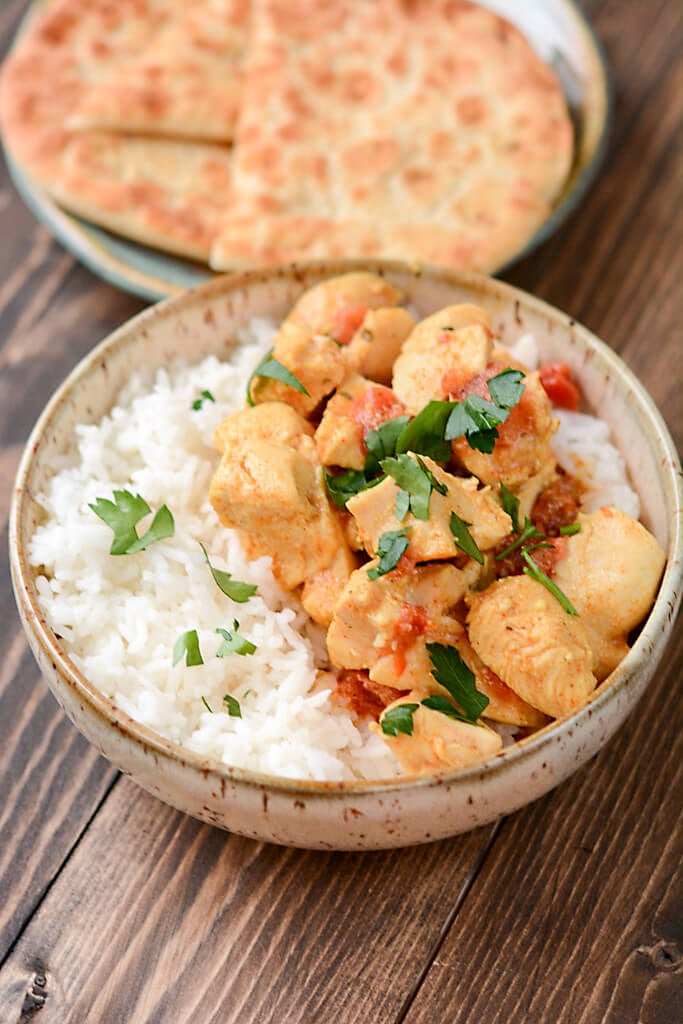 Slow-Cooker Red Curry Almond Chicken | Indian Chicken ...