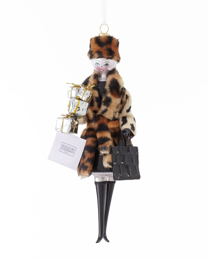 Bergdorf's brilliant Linda Fargo is a living icon in the fashion world, and the opportunity to have her as a guest at my Christmas feast, even if miniaturized ($65), is too good to pass up. — LM