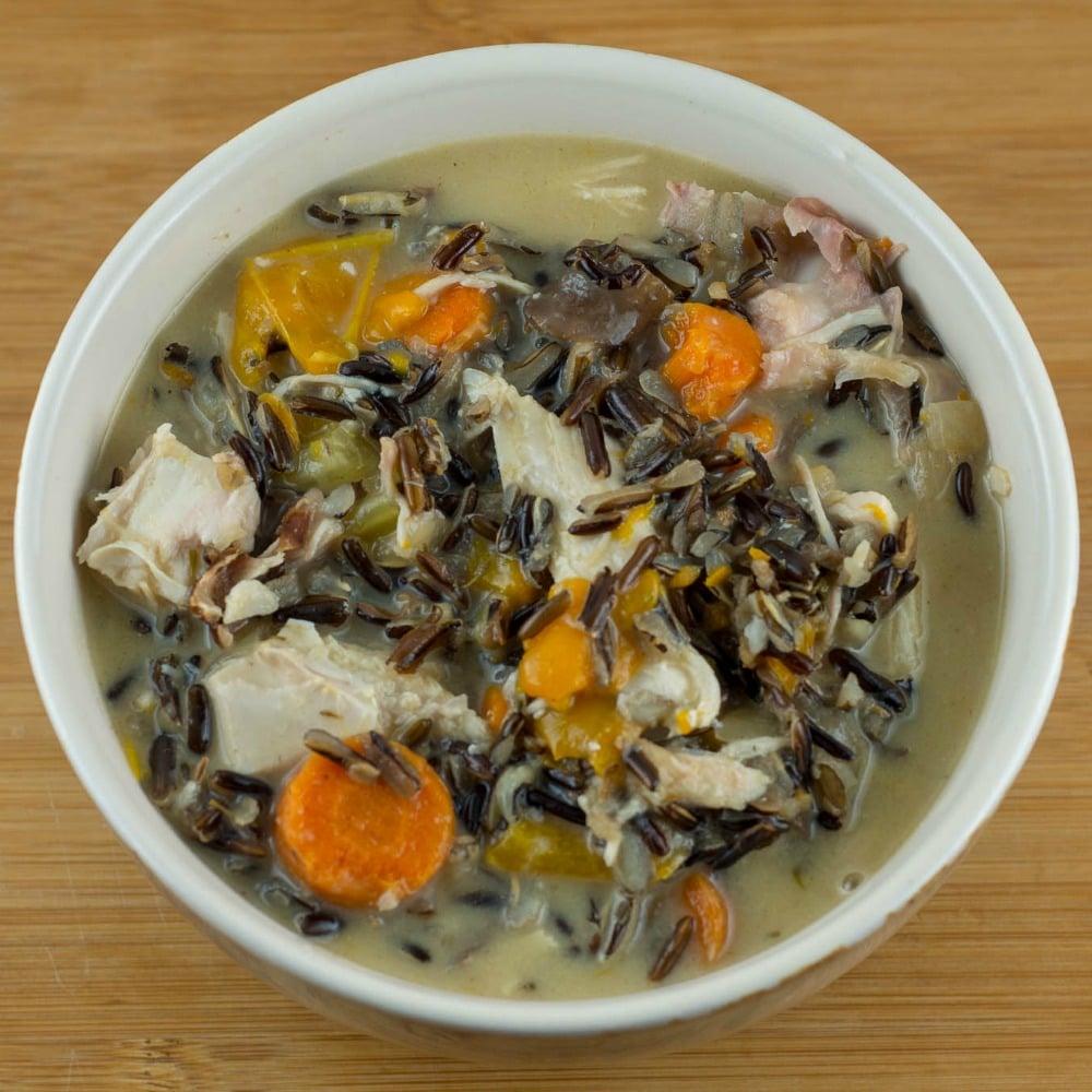 Turkey Soup With Wild Rice