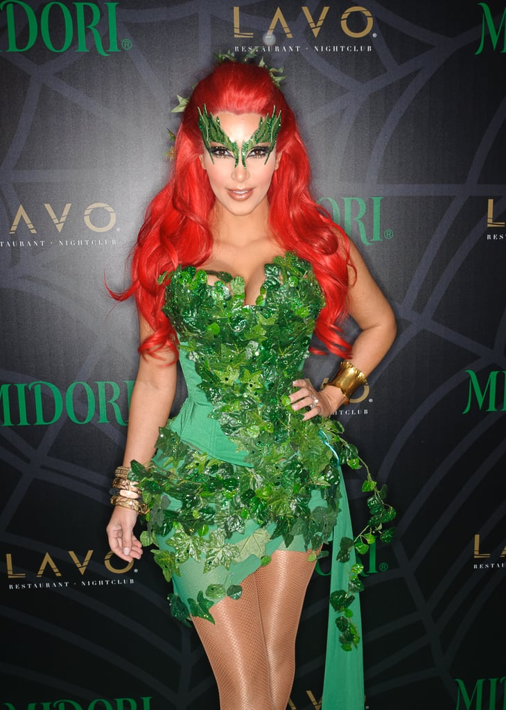 kim kardashians halloween costumes - Green Halloween Dress