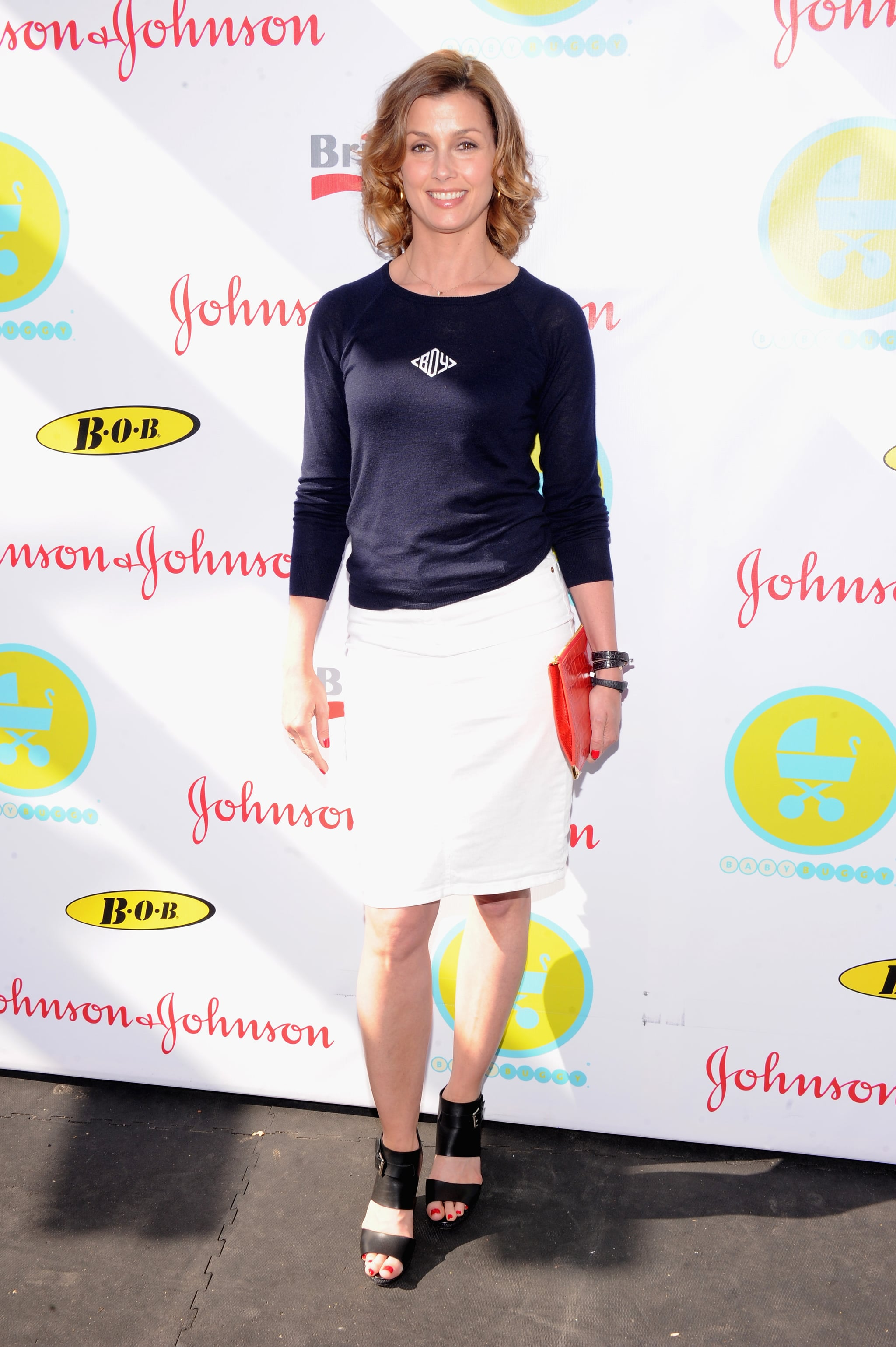 Bridget Moynahan attended the 2013 Baby Buggy Bedtime Bash.