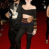 Miley Cyrus walked the VMAs red carpet with Mike WiLL.