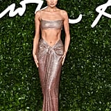 Elsa Hosk at the British Fashion Awards 2019 in London