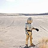 Homemade C-3PO costume